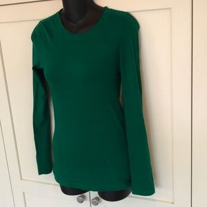 Bozzolo fitted T long sleeve size m